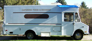 Mobile Catering Food Concessions Truck Roomy With Generator Was Fully Licensed