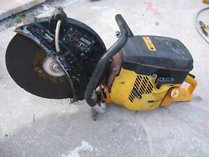 Partner Concrete Saw K950 Active Gas Power Cut Off Saw 14 New Blade