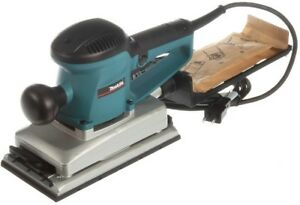 Makita Sheet Finishing Sander Dust Collection Woodworking Cleaning 12 Corded