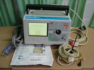 Zoll M Series Monitor Biphasic 3 Lead Ecg Aed T