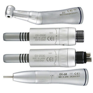 Dental Inner Water Low Speed Contra Angle Air Motor 2 4 Hole Handpiece Nsk W