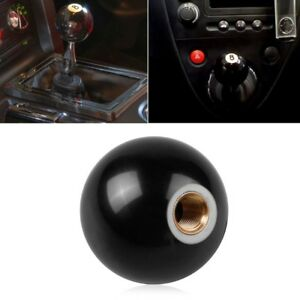 8 Eight Pool Billiard Ball Custom Gear Shifter Shift Knob Car Lever Black