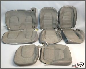 2004 Ford Explorer Xls Front And Rear Seat Cushion Cover Gray Oem