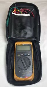 Fluke 16 Multimeter Electronic Circuit Tester Tool Test Leads Protective Cases
