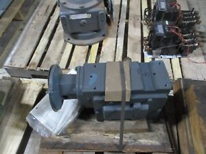 Dodge Tigear Reducer C262b100n056k4 Ratio 100 17rpm Out 1800rpm In New Surplus