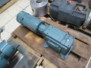 Dodge reliance Gear Motor C262b300n056k4 Ratio 300 6rpm Out 1 2hp New Surplus