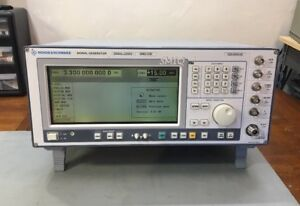 Rohde Schwarz Smiq03b 3 3ghz Vector Signal Generator Calibrated Loaded W Opts