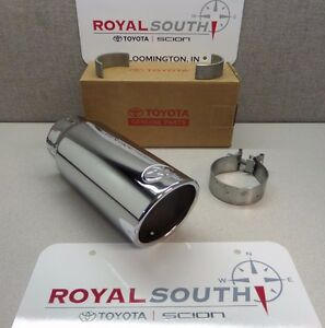 Toyota Tundra 2012 2019 Chrome Exhaust Tip Genuine Accessory