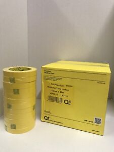Premium Yellow Automotive Masking Tape Rolls 3 4 In 1 Case 48 Rolls