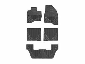 Weathertech All weather Floor Mats For Ford Explorer 17 19 1st 2nd 3rd Row Black