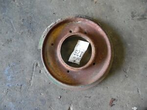 John Deere H Tractor Crankcase Dust Cover Tag 126