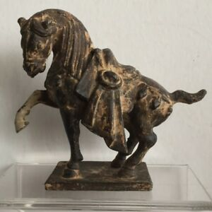 Tang Dynasty Style Horse Cast In Iron