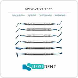 Bone Graft Dental Implant Instruments 6 Pcs