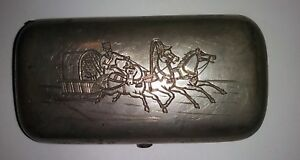Antique Russian 84 Silver Cigarette Case