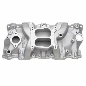 Edelbrock 2104 Performer Intake Manifold For 1987 95 Sb Chevy