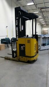 2 Yale High Reach Forklifts For One Price 1 Fully Operational With Battery