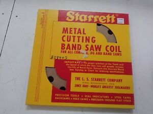 Starrett 1 16 Wide Band Saw Coil