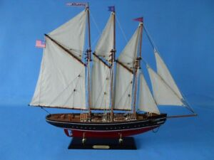 Replica Handcrafted Sailboat 32 Assembled High Museum Quality Amazing Detail