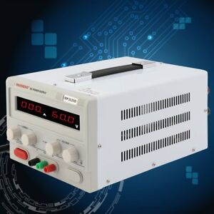 Triple output 0 30v 0 20a Linear Dc Power Supply Regulated Variable Led New Oy