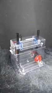 C b s Scientific Dasg 250 02 Adjustable Dual Vertical Electrophoresis Cell