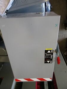 Ge Tc35364 Mod 8 200 Amp 3 Pole 600 Volt Double Throw Switch Ats296
