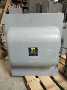 Square D 92454 200 Amp 240 Volt 4 Pole Double Throw Safety Switch Ats295