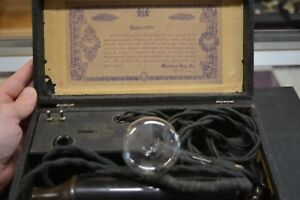 Antique Violetta Baby Ultraviolet Electro Theraphy Medical Device Mint Complete