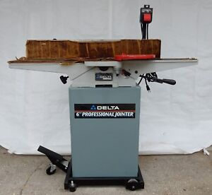 Delta 6 Professional Jointer Model 37 866 W B52 858 Stand 50 333 Mobile Base