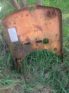 Firewall Assembly Off Cletrac Model E Might Fit Others Crawler dozer loader