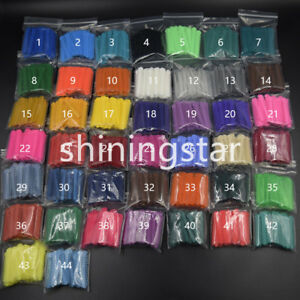 1008pcs Dental Orthodontics Elastic Ligature Ties Rubber Bands 45 Colors Option