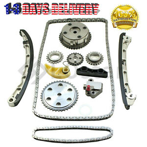 Timing Chain Kit For Mazda 3 6 Cx 7 2 3l Turbo 2007 2013 With Vvt Acuator