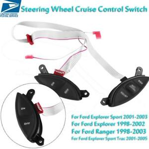 Steering Wheel Cruise Control Switch For Ford F150 Explorer Sport Ranger Us