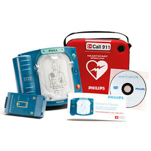 New In Box Philips Heartstart Aed Home Defibrillator Hs1 6 Year Warranty