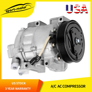 A C Compressor And Clutch Co 10886c 1110886 For 2007 2012 Nissan Altima 2 5l