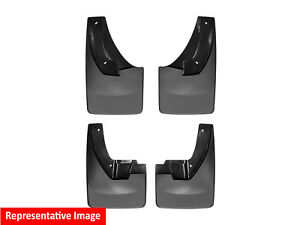 Weathertech No Drill Mudflaps For Chevy Colorado Zr2 2017 2018 Full Set