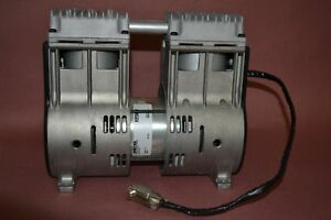 Thomas 2750 Series Vacuum Pump 2750zb75 158 Wob l Piston Two Cylinder In line