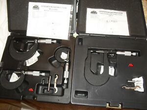 Mac Tools Mcs3 0 To 3 Range Micrometer Set And Digital Disc Brake Micrometer