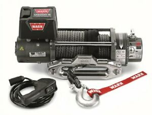 Warn 87800 M8000 S Winch With Synthetic Rope