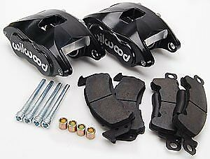 Wilwood 140 11291 Bk Black Powder Coated Front Caliper Kit