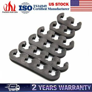 6pcs 7mm 8mm 9877 Plastic Spark Plug Wire Separator Divider Loom For Chevy Ford