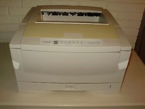 Canon Fileprint 400 Microfilm Laser Printer Complete With Used Toner