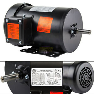 1 5 Hp Electric Motor 3 Phase Premium Efficiency 56h Frame 1800 Rpm Tefc
