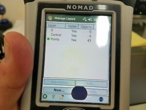 Nomad Data Collector With Survey Pro Software Installed