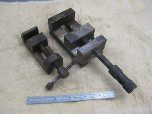 Precision Machinist Shop Made Tool Steel Drill Vises 2 3 8 And 1 3 8