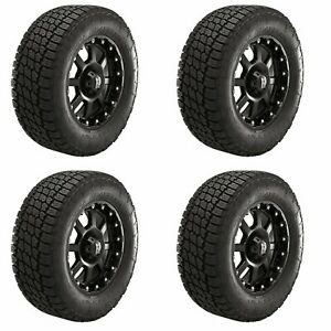 4x Nitto Lt285 70r17 Terra Grappler G2 All Season Truck Suv Tires A T 121s 10ply
