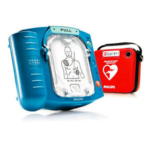 Philips Heartstart Home Aed Hs1 M5068a Defibrillator 3 Year Warranty
