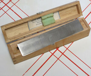 High Quality Lipshaw Germany Microtome Knife Blade 770 180 180mm In Wooden Case