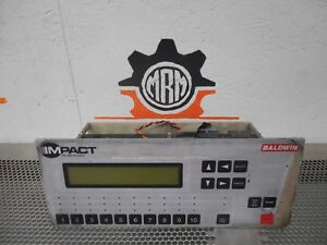 Impact Baldwin Automatic Blanket Cleaner Web Press Controller With Display Used