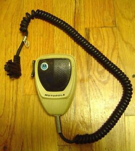 Motorola Syntor X9000 Dual Microphone For Radio