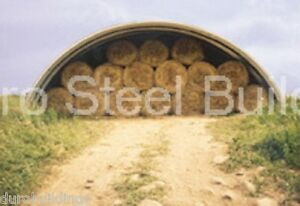 Durospan Steel 51x170x17 Metal Quonset Hut Building Kit Structure Factory Direct